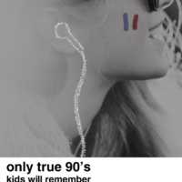 only true 90's kids will remember - french edition
