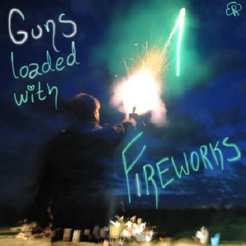 guns loaded with fireworks