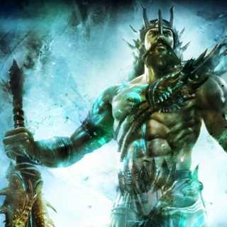 myth ark XIV: poseidon (the earth-shaker)