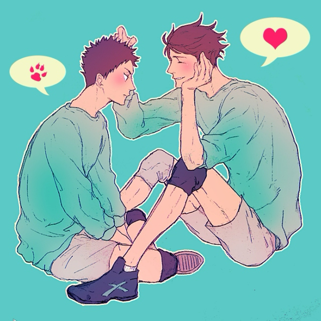 my problem with me is my problem with you {iwaoi mix}