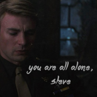 you are all alone, steve