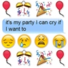 it's my party I can cry if I want to