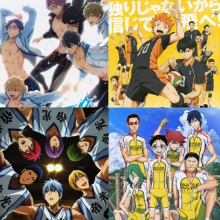 Sports Anime Workout Mix