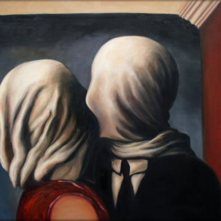 magritte's lovers