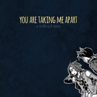 you are taking me apart