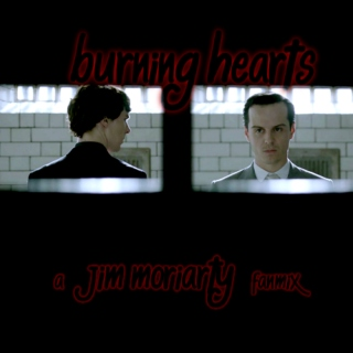 burning hearts - a Jim Moriarty fanmix