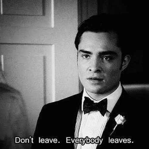 everyone eventually leaves...
