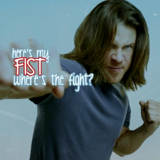 Here's My Fist, Where's The Fight?