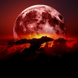 She Howled at the Moon and it Turned Red