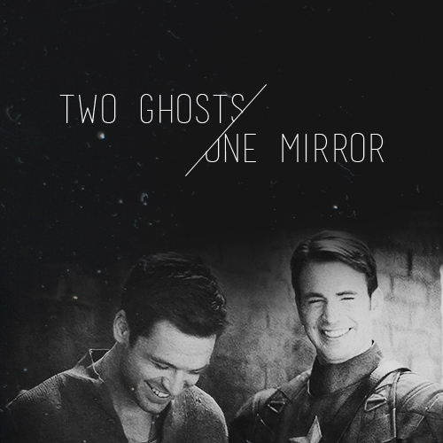 two ghosts in one mirror