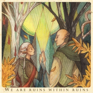 We are ruins within ruins