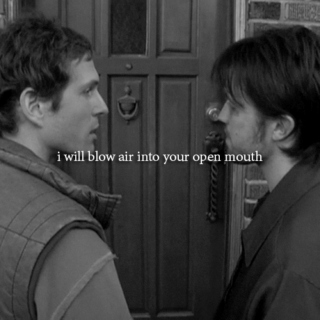 i will blow air into your open mouth