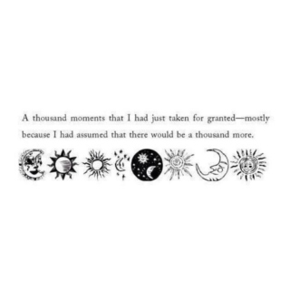 A Thousand Moments.