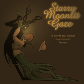 starry moonlit gaze