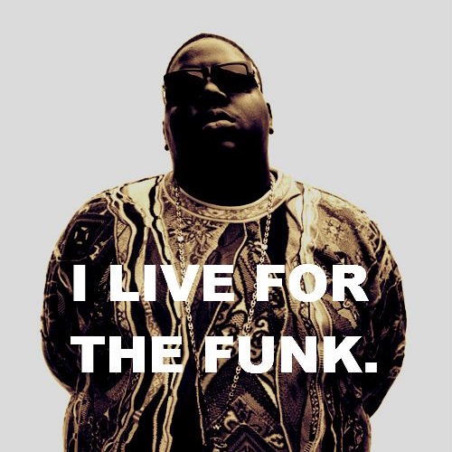I LIVE FOR THE FUNK