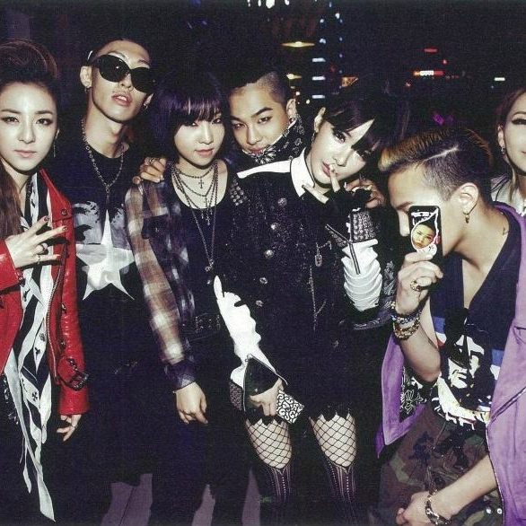 Dancing with the YG hotties