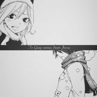 To Gray-sama; from Juvia