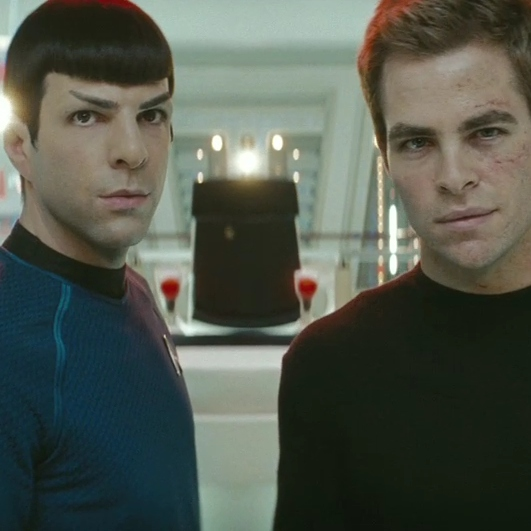 the invention of the shipwreck (kirk/spock)