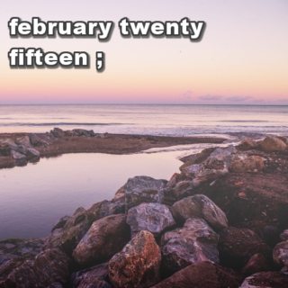 february twenty fifteen ;