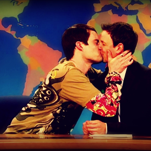 Then Seth Meyers Fell In Love With Another Man.