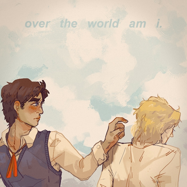 over the world am i.