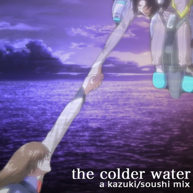 the colder water