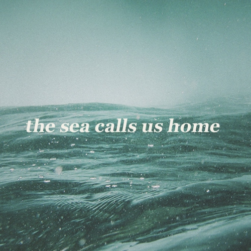 the sea calls us home