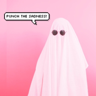 punch the sadness!