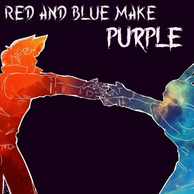 Red and Blue Make Purple