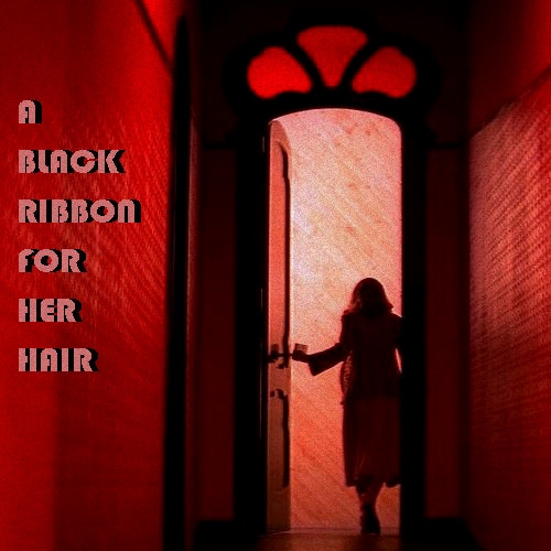 A Black Ribbon For Her Hair