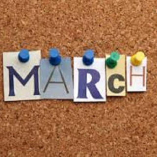 March is Here