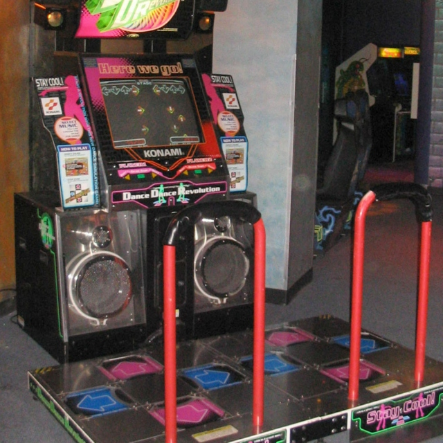 was there like only one ddr in every arcade or what