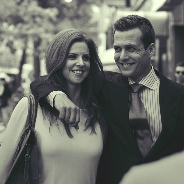 Donna x Harvey; i don't love you but i always will