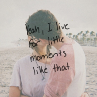 yeah, I live for little moments like this ♡