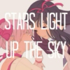 stars light up the sky
