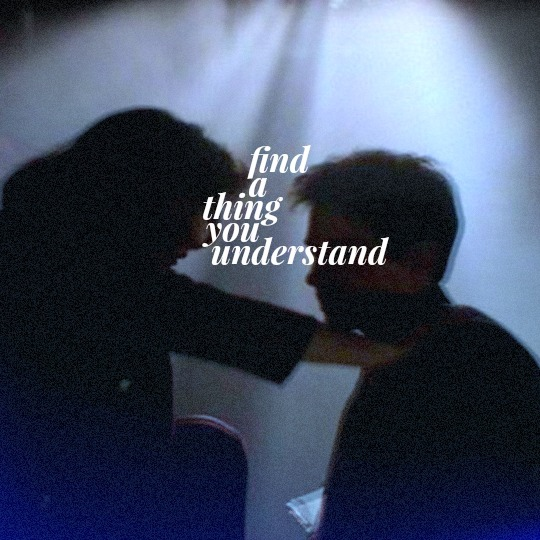 find a thing you understand