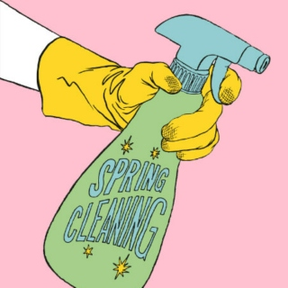 The spring cleaning mix