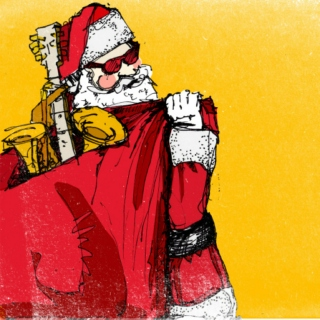 santa's got a sax in the sack