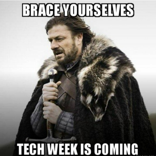 hell -- err, tech -- week