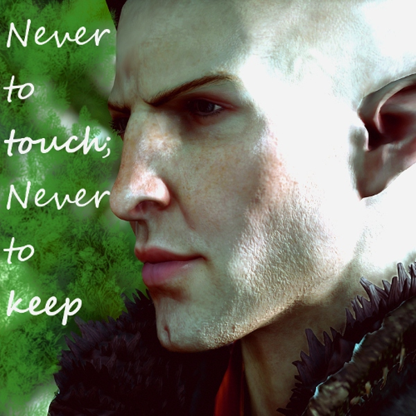 Never to touch; Never to Keep