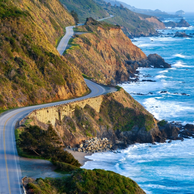 west coast driving
