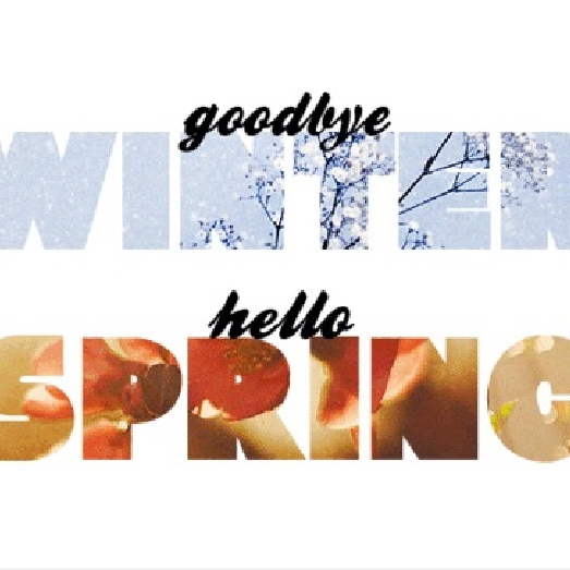Looking forward with an eye to spring.
