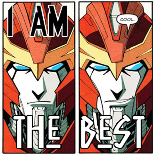 It's CAPTAIN Rodimus