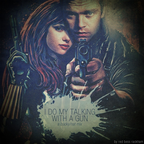 i do my talking with a gun