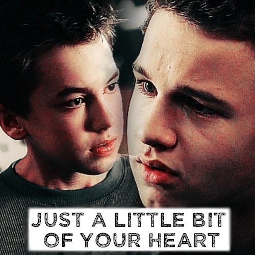 just a little bit of your heart