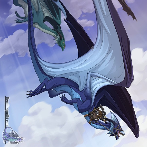 spread your wings, and fly with dragons