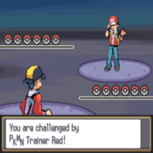 your rival wants to battle