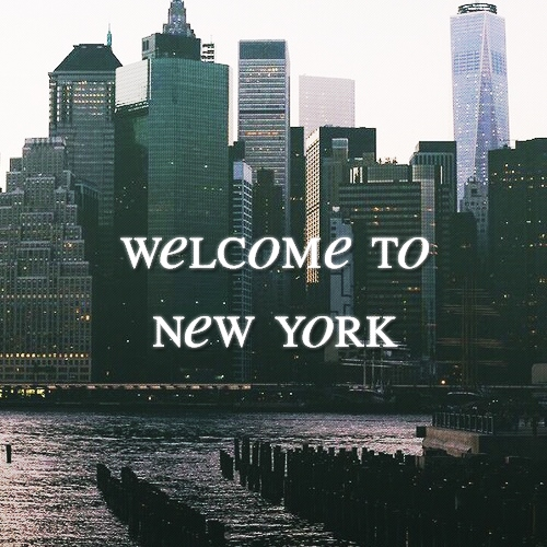 WELCOME TO NY.