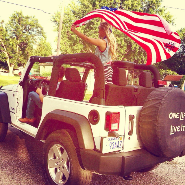 Jeep Driving Country
