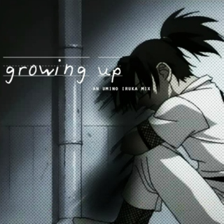growing up | an umino iruka mix